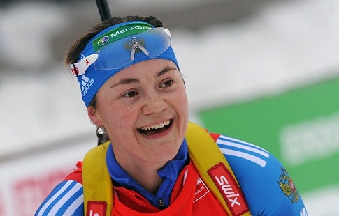 Екатерина Юрлова выиграла масс-старт начемпионате РФ  побиатлону вТюмени