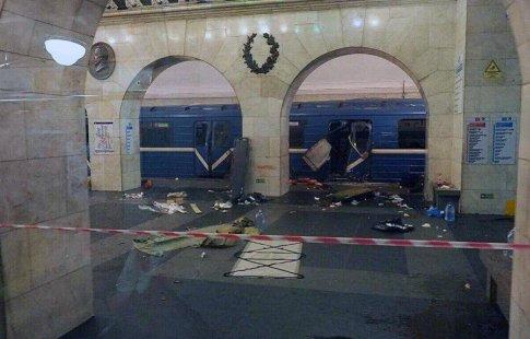 Губернатор Полтавченко прокомментировал взрыв впетербургском метро
