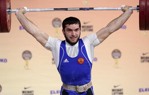 Тяжелоатлет Малигов завоевал золото ввесовой категории до94кг наЧЕ