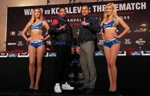 Русский боксер Сергей Ковалев объявил, что даже нетрезвым победит Андре Уорда