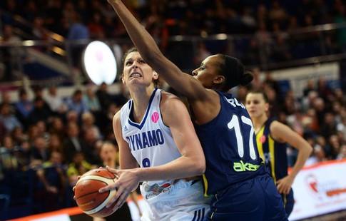 Анастаcия Веремеенко всоставе «Фенербахче» заняла 2-ое место вбаскетбольной Евролиге