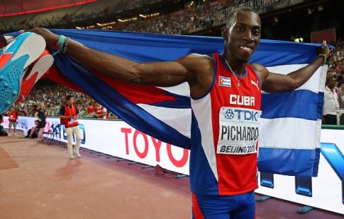 Серебряный призёрЧМ полёгкой атлетике убежал израсположения сборной Кубы