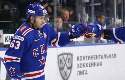 Вадим Шипачев перебирается изпитерского СКА вклуб НХЛ