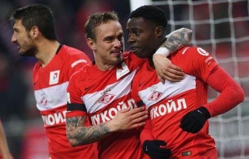 «Спартак» пустит собственных болельщиков наполе после матча с«Тереком»