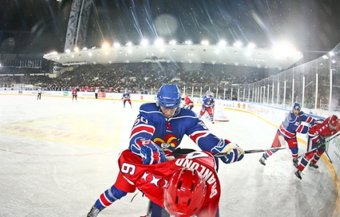 «Йокерит» иСКА сыграют наоткрытом воздухе вчесть юбилея КХЛ