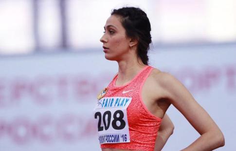 Русским легкоатлетам запретили демонстрировать цвета флагаРФ