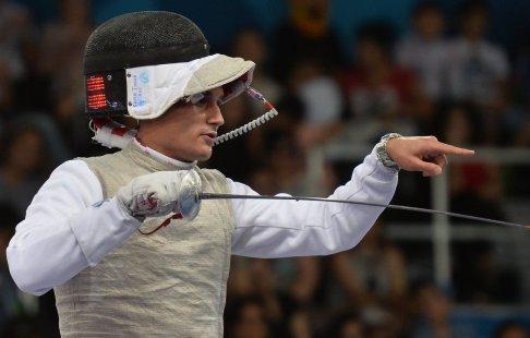 Русский рапирист Сафин завоевал серебро начемпионате Европы