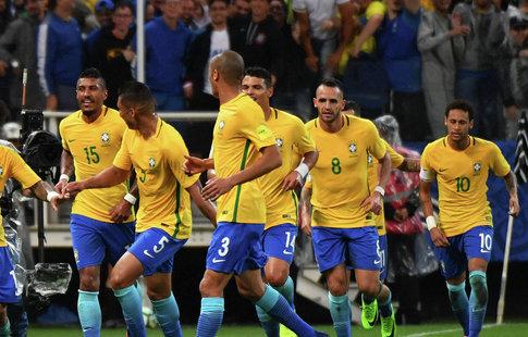 Сборная Бразилии хочет провести товарищеский матч сРоссией