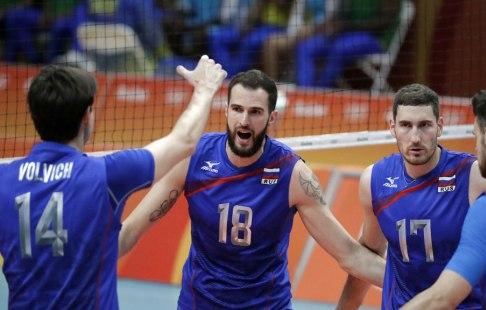 Сборная РФ  поволейболу обыграла Польшу в3 этапе Мировой лиги