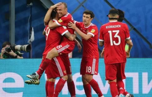 Джикия: сборная Российской Федерации  попробует занять первое место всвоей группе Кубка конфедераций