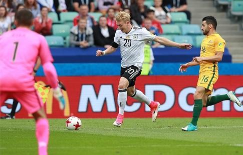 Юлиан Брандт'Сегодня главной проблемой сборной Германии была реализация