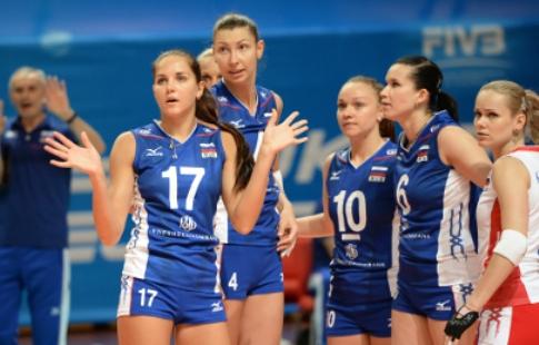 Волейбольная сборная РФ стартовала спобеды на«Кубке Ельцина» вЕкатеринбурге