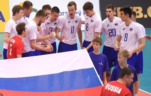 Сборная Российской Федерации поволейболу вышла вполуфинал юношеского чемпионата мира