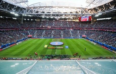 Затри матча стадион наКрестовском посетили неменее 145 тыс. человек