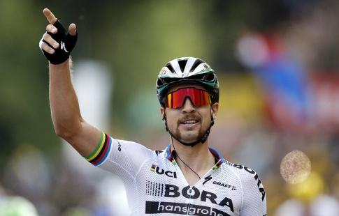 Словак Саган одержал победу  третий этап веломногодневки «Тур деФранс»