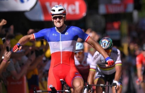 Велогонщик Саган дисквалифицирован доконца «Тур деФранс»