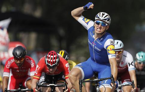 Тур деФранс. 1-ый горный этап вывел влидеры Фрума