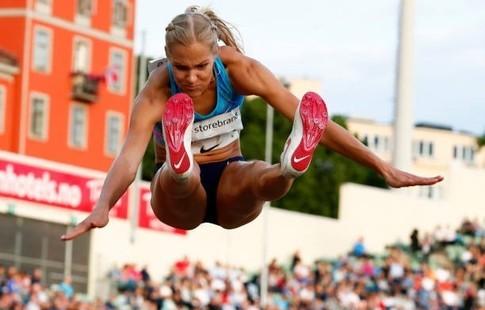 Наэтапе Бриллиантовой лиги русская прыгунья ввысоту Ласицкене завоевала золото