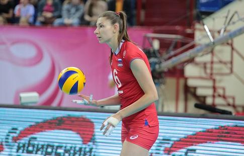 Русские волейболистки уступили сборной Нидерландов