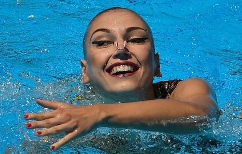 Синхронистка Колесниченко завоевала золотоЧМ в различной программе
