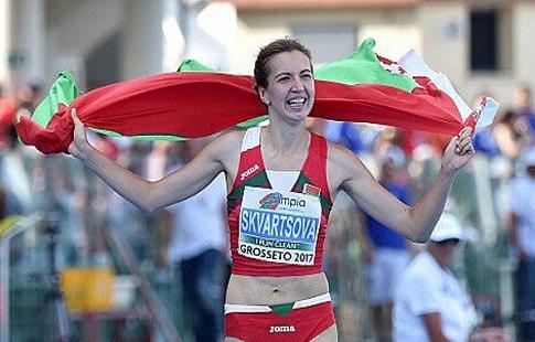 Белорусская легкоатлетка демонстративно покинула пьедестал начемпионате Европы