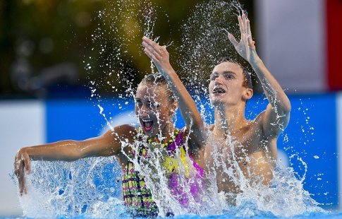 Русские синхронисты Мальцев иКаланча завоевали золото чемпионата мира