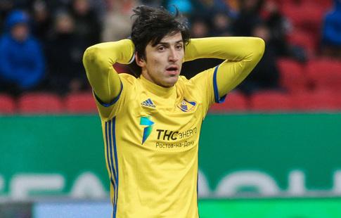 Агент ФИФА: Азмун желает провести этот сезон в«Рубине»