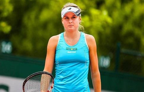 Теннисистка К.Козлова впервый раз всезоне вышла в ¼ финала турнира WTA