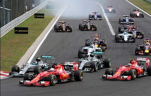 Феттель продемонстрировал лучшее время вквалификации Гран-при Венгрии, Квят— 13-й