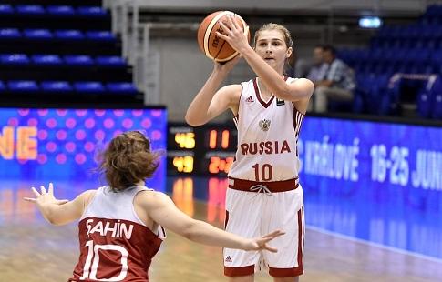 Баскетболистка изСамарской области всоставе русской сборной выиграла первенстве мира