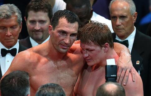 Владимир Кличко пожелал удачи Энтони Джошуа как своему приемнику