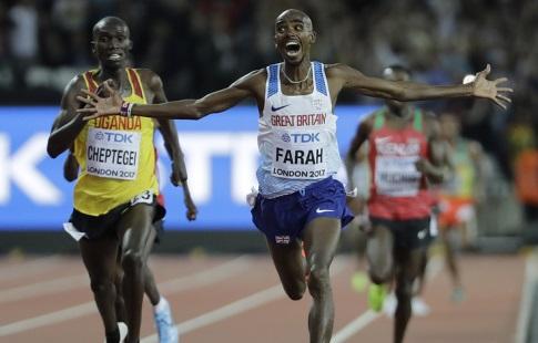 Англичанин Фара взял первое золото ЧМ-2017 истал шестикратным чемпионом