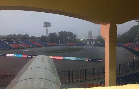 Решение опроведении матча вХабаровске арбитр примет перед началом игры— РФПЛ