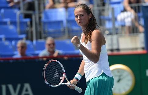 Александрова иКасаткина прошли во 2-ой круг теннисного турнира вКанаде