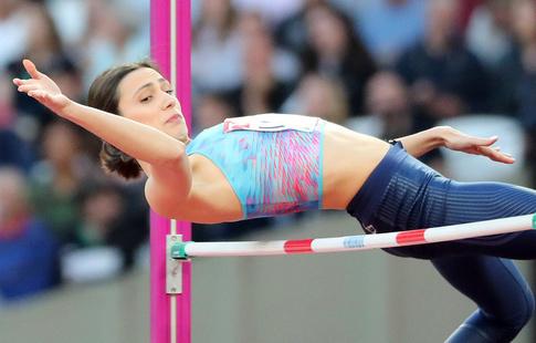 Ласицкене защитила титул чемпионки мира впрыжках ввысоту