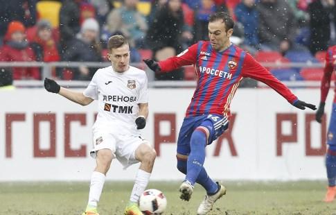ЦСКА сыграл вничью с«Уралом» вматче седьмого тура РФПЛ