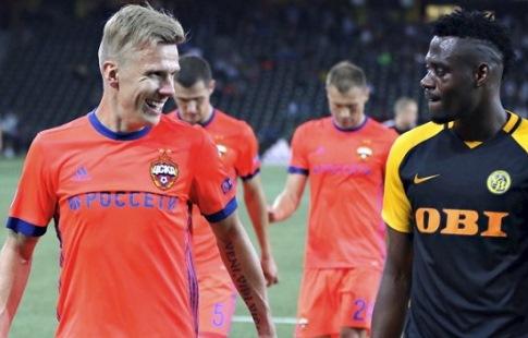 Голы Щенникова и Дзагоева помогли ЦСКА выйти в групповой этап Лиги чемпионов