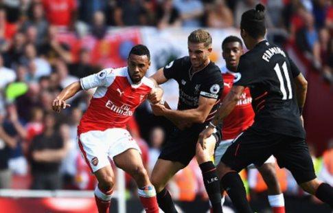 «Ливерпуль» разгромил «Арсенал» вматче чемпионата Британии