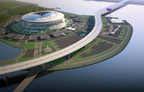Настадионе «Санкт-Петербурга» будет сделан демонтаж медиацентра, оценивающийся в400 млн.