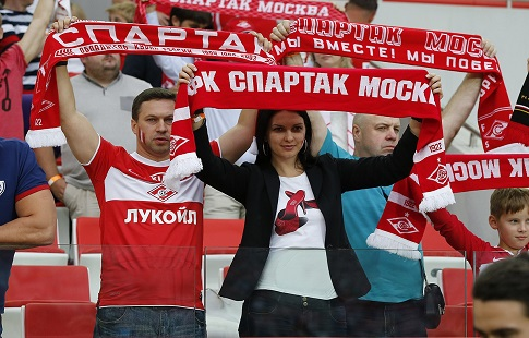 «Спартак» прервал серию без побед вматче против «Рубина»