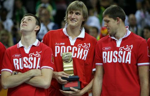Сборная Российской Федерации одолела команду Хорватии ивышла вчетвертьфиналЧЕ побаскетболу