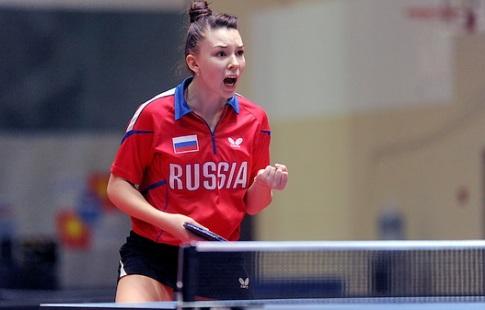 Белоруски проиграли настарте командногоЧЕ понастольному теннису