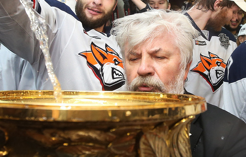 СКА одержал 11-ю победу подряд вКХЛ, обыграв вовертайме «Металлург»
