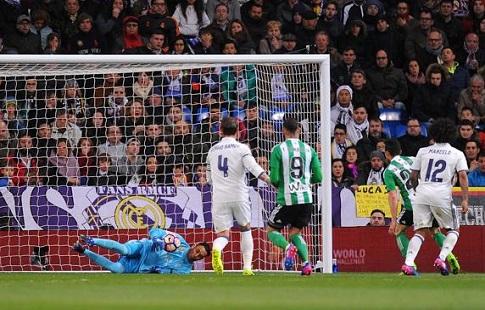«Бетис» одержал победу у«Реала» инедал установить исторический рекорд