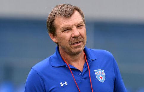 Олег Знарок'СКА провалил первый период матча с'Авангардом