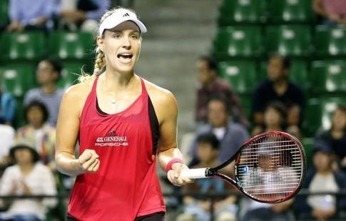 Кербер одолела Плишкову исыграет сПавлюченковой вполуфинале турнира вТокио