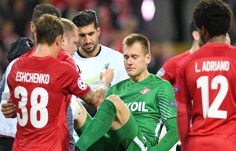 «Спартак» одержал верх над «Ливерпулем» вматче Юношеской лиги УЕФА