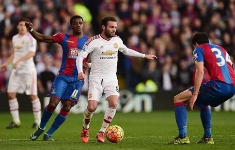 Футболисты «Манчестер Юнайтед» разгромили «Кристал Пэлас» вматче чемпионата Британии