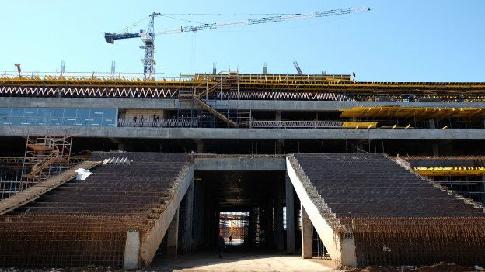 Строящийся кЧМ-2018 стадион вСамаре будет готов доконца года