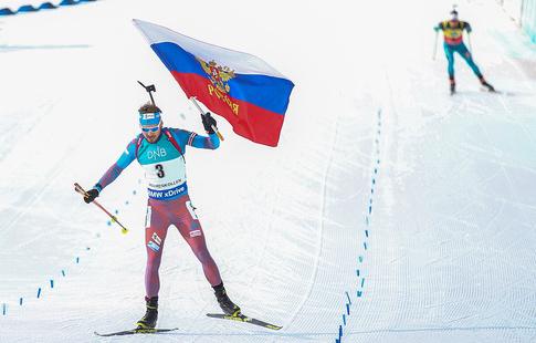 Олимпийская сборная побиатлону будет сформирована по результатам 6-ти этапов Кубка мира